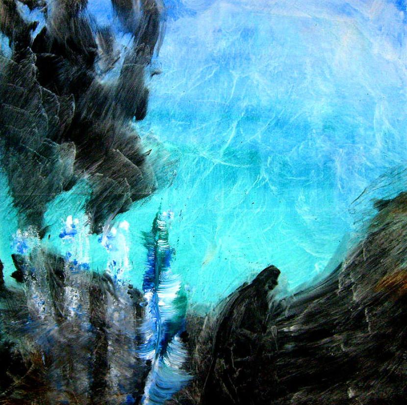 Zwischen den Wellen – 90 x 90 cm Acryl – 700€