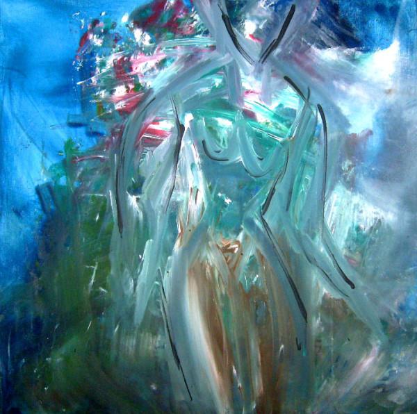 C & B / 60 x 60 cm Acryl – 350 €