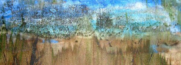 Spreeenten – 30 x 40 cm Acryl – verkauft