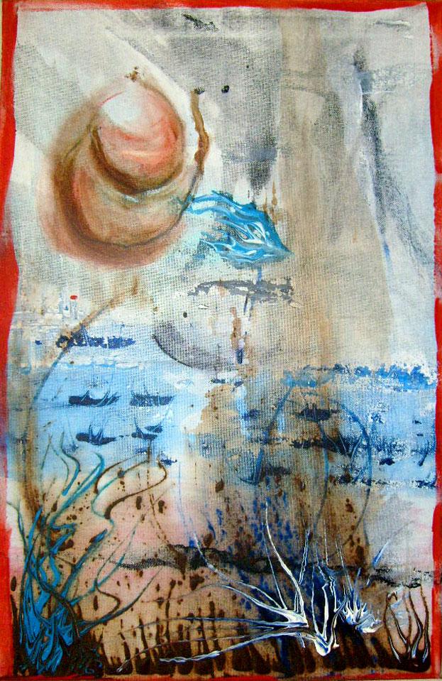 Havelstrand – 40 x 60 cm Acryl – 260 €