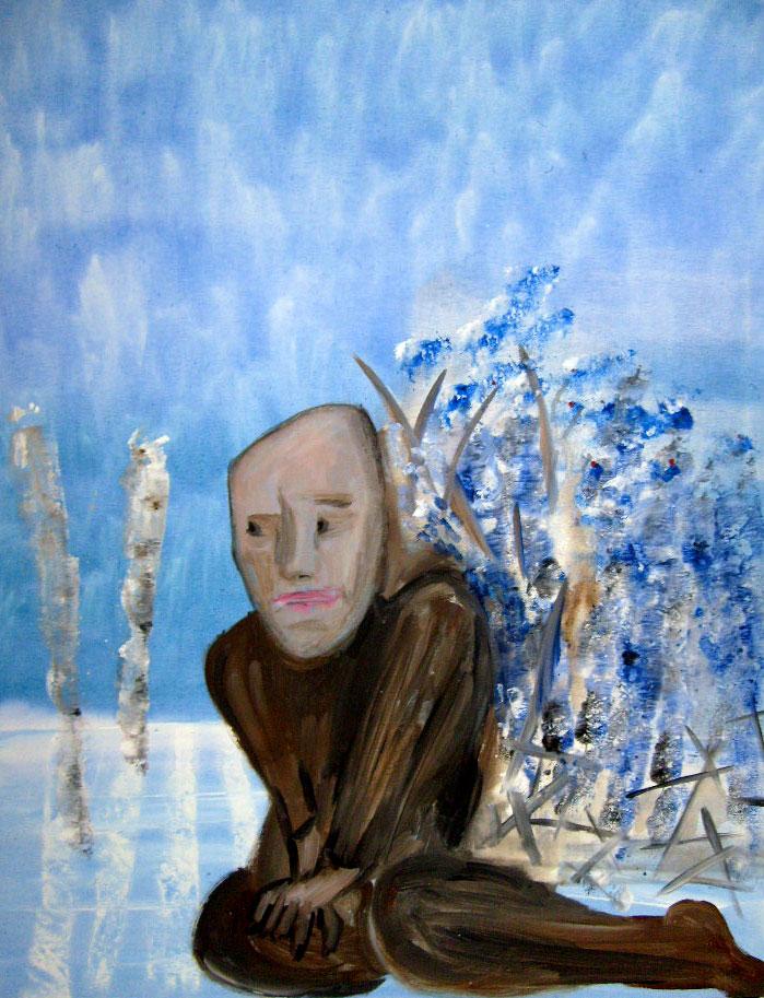 Walter – 70 x 90 cm Acryl – 650 €